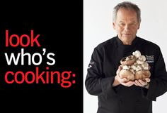 In the kitchen with wolfgang puck! Only on mBLOG!