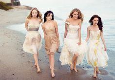 short wedding dresses for the beach
