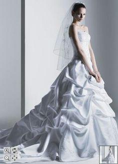 I felt so beautiful in my Oleg Cassini gown...this is my wedding dress.