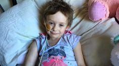 """Padre comparte unas crudas fotos de su hija de 4 años para mostrar """"la verdadera cara del cáncer"""""""