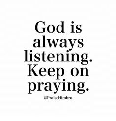 In all the chaos and hustle of day to day life it is important to set some time aside and make sure you pray to God and praise God in order to think on a highe… God Prayer, Prayer Quotes, Bible Verses Quotes, Faith Quotes, Words Quotes, Praise God Quotes, Scriptures, Sayings, God Is Love Quotes