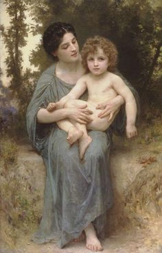 William Bouguereau Little brother Painting