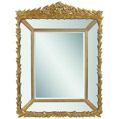 Bassett Mirror Verona Wall Mirror M3216BEC