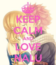 Keep Calm and love Jerza ! :o Keep Calm and love Gale ! Keep Calm and love Luxajane ! :p I Loove Gruvia Nothing to say ! I LOVE NALU ^^ Fairy Tail Lucy, Fairy Tail Nalu, Rog Fairy Tail, Fairy Tail Ships, Fairytail, Gruvia, Recent Anime, Couples Fairy Tail, Fairy Tail Quotes