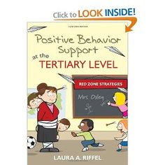 Positive Behavior Support at the Tertiary Level: Red Zone Strategies: Laura A. Riffel: 9781412982016: Amazon.com: Books