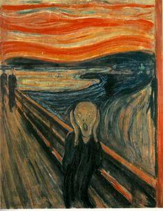 The Scream--Edvard Munch