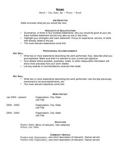 Psychological Associate Sample Resume Pinjobresume On Resume Career Termplate Free  Pinterest .