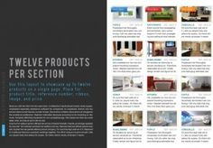 nicely designed real estate catalog template for InDesign -- sizing is just slightly off though x instead of x Indesign Templates, Adobe Indesign, Print Templates, Layout Design, Web Design, Self Publishing, Catalog, Editorial, Real Estate