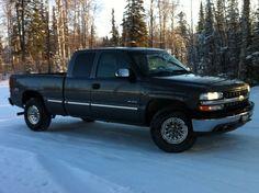 Alaska's List : Alaska : Pickups : 2001 Chevy Silverado Z71 4x4 4,900