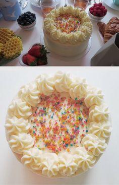 Zoella (Zoe Sugg) rainbow birthday cake