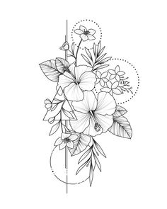 Best Screen Hibiscus dessin Style Mature hawaiian hibiscus regarding an enormou. - Best Screen Hibiscus dessin Style Mature hawaiian hibiscus regarding an enormous, vibrant search i - Flower Sketches, Art Drawings Sketches, Tattoo Drawings, Cute Tattoos, Body Art Tattoos, Small Tattoos, Floral Tattoo Design, Flower Tattoo Designs, Tatouage Plumeria