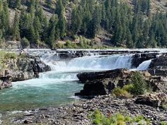 There's no denying that Kootenai Falls in breathtaking. Waterfall Hikes, Mountain Park, Big Sky Country, Scenic Photography, Landscape Photography, Local Attractions, Beautiful Waterfalls, Walking In Nature, State Parks