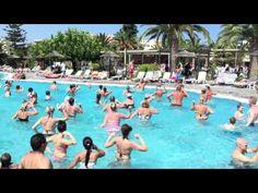 Aerobics Classes, Kos, Greece, Dolores Park, Aqua, Hotels, Vacation, Holidays, Videos