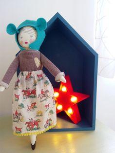 Une jolie #déco pour Happy☆ハッピー avec cette #boîte #maison #babou et cette #étoile #lumineuse à 5€