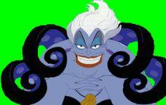 Personajes de La sirenita de Disney
