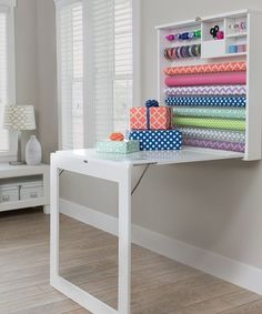 Loving this Fold Down Gift Wrap Table on #zulily! #zulilyfinds
