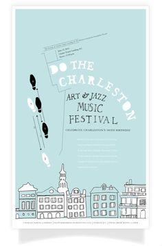 Art & Jazz Music Festival Poster