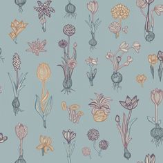 Malva, a flower of early spring, is the little sister of our popular textile, Greta, and is a patterned wallpaper with natural simplicity, which, when combined with our fantastic surface printing technique, creates a dynamism on your walls. Reminiscent of the floral wallpaper the 1920s, it creates a romantic and pleasuring feeling in the hall, kitchen or bedroom.