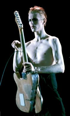 David Bowie as the Thin White Duke on the Isolar Tour in support of the immortal album, Station To Station, 1975.