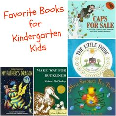 Favorite Books for a 5 year old