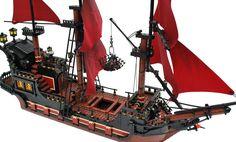 Lego pirate ship - Queen Anne's Revenge