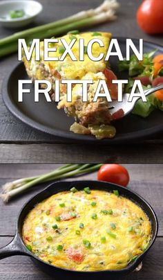 This Mexican frittata recipe is an easy, delicious meal. Try this gluten-free recipe for a hearty, healthy dinner or breakfast. This Mexican frittata recipe is an easy, delicious meal. Try this gluten-free recipe for a hearty, healthy dinner or breakfast. Mexican Frittata Recipe, Frittata Recipes, Recipe For Frittata, Egg Omelette Recipe, Dairy Free Frittata, Easy Delicious Recipes, Easy Soup Recipes, Yummy Food, Crepe Recipes