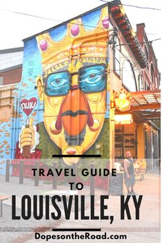 Travel to Louisville to experience a different kind of southern. Our list of more than just horses and bourbon Louisville KY attractions. Best Travel Guides, Usa Travel Guide, Travel Usa, Travel Tips, Travel Stuff, Travel Goals, Travel Ideas, Louisville Kentucky, United States Travel