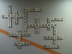 12 ideas para decorar y darle vida a tu pared | Church ideas ...
