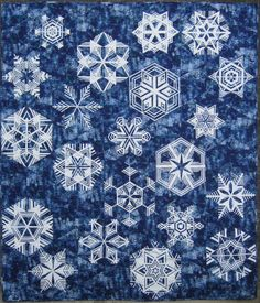 Let It Snow, by Marge Hurst: Quiltmaker