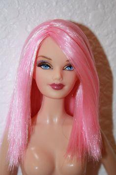 Barbie Basics Model No. 9 Reroot Diva Midge Face Mold Model Muse For OOAK Nude…