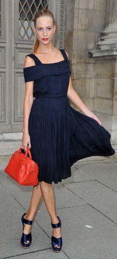 Paris. Poppy Delevingne. Love, love, love the shoes!