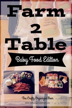 Making your own baby food is so simple and much less expensive than store bought baby food.