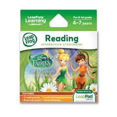 Amazon.com: LeapFrog LeapPad Ultra eBook Adventure Builder: Disney Fairies: Tink's Midnight Tea Party (works with all LeapPad Tablets): Toys & Games