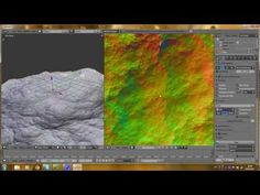 Blender Tutorial - Create Low Poly Landscapes for Game Engine - YouTube