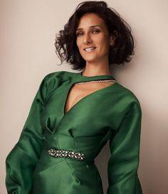 Indira Varma, Short Hair Cuts, High Neck Dress, Blazer, Hot, Dresses, Women, Google Search, Fashion