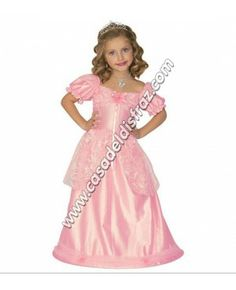 Widmann - Costume for Children, Princess Dress, Rose, Assorted Sizes years) Princess Costumes For Girls, Princess Fancy Dress Costume, Pink Costume, Pink Princess, Little Princess, Princess Party, 4 Year Old Girl, Tout Rose, Prom Dresses