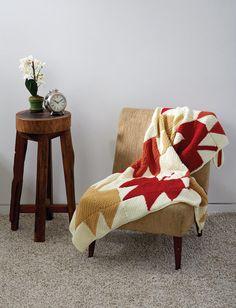 October Autumn Leaves Crochet Blanket