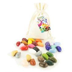 Kredki Crayon Rocks w bawełnianym woreczku - 32 kolory