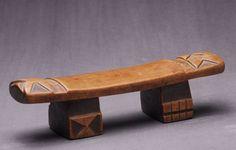 Zulu - Audouin Headrests Appuie-nuque African Headrest Neckrest | Archives