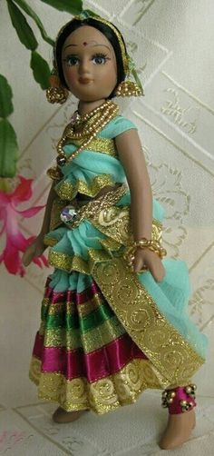Indian Dance DOll