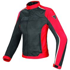 Dainese Hydra Flux D Dry Lady - Black.The Hydra Flux D-Dry jacket is light and versatile thanks to the use of the latest generation fabrics,, motorcycle Motorbike Jackets, Motorcycle Gear, White Motorcycle, Riding Jacket, Riding Gear, Touring, Motosport, Summer Collection, Jackets For Women