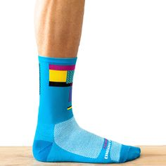 Ornot Radical Blue Sock