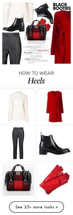 """""""Back to Basic :Black Booties"""" by divni on Polyvore featuring Maison Margiela, P.A.R.O.S.H., 3.1 Phillip Lim, Forzieri, Dsquared2, churchs and blackbooties"""
