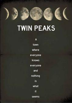 'Twin Peaks' Poster Art