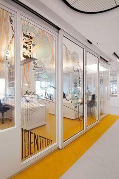 Emma Children's hospital in Amsterdam: interior design by OPERA Amsterdam