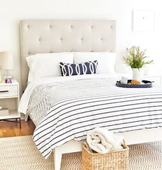 beach.quenalbertini: Guest Bedroom - Beautiful Homes of Instagram   HomeBunch