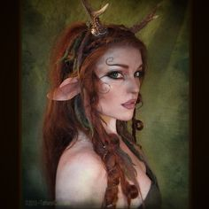 The faun look I did today