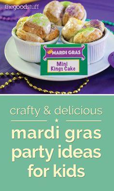 Crafty & Delicious Mardi Gras Party Ideas for Kids | thegoodstuff