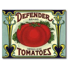 >>>best recommended          Defender Tomatoes, Vintage Fruit Crate Label Art Postcards           Defender Tomatoes, Vintage Fruit Crate Label Art Postcards online after you search a lot for where to buyReview          Defender Tomatoes, Vintage Fruit Crate Label Art Postcards today easy to...Cleck Hot Deals >>> http://www.zazzle.com/defender_tomatoes_vintage_fruit_crate_label_art_postcard-239802376443969679?rf=238627982471231924&zbar=1&tc=terrest