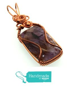 Super 7 Gemstone Copper Wire Wrapped Pendant from Angelleesa Designs https://www.amazon.co.uk/dp/B01LYO8WF9/ref=hnd_sw_r_pi_dp_rsM7xbVDC60XY #handmadeatamazon